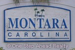 sign for Montara