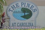 sign for The Pines