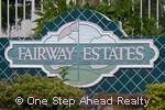 sign for Fairway Estates