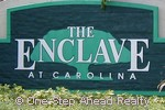 sign for The Enclave I