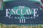 sign for The Enclave III