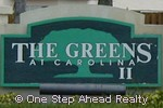 sign for The Greens II